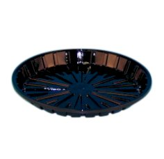 Carpaccioschalen  B23cm T27cm APET schwarz deckel 456231