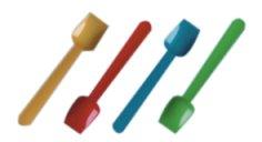Cuillères à glace ass. couleur 9,5 cm