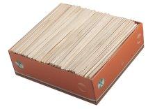 Roerstaafje hout 14cm breedte 0,6cm dikte 1,3mm