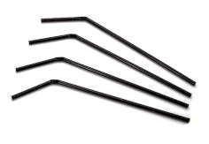 Buigrietje Bio PLA zwart 24cm @5mm (alleen voor medische doeleinden)