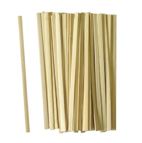 Roerstaafjes bamboe 14cm breedte 0,5 cm dikte 1,5mm