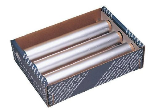 Aluminium folie 45cmx150mtr 11my voor wrapmaster 4500