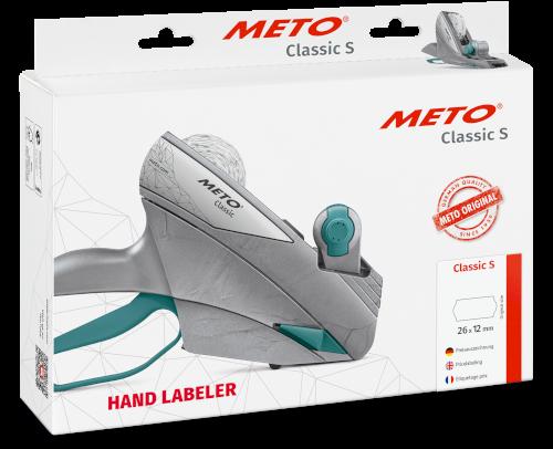 Prijstang Meto Classic S826 (datum, prijs) 1 regel tbv etiket 26x12mm