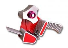 Tapedispenser metaal/kunststof 50mm inclusief rem