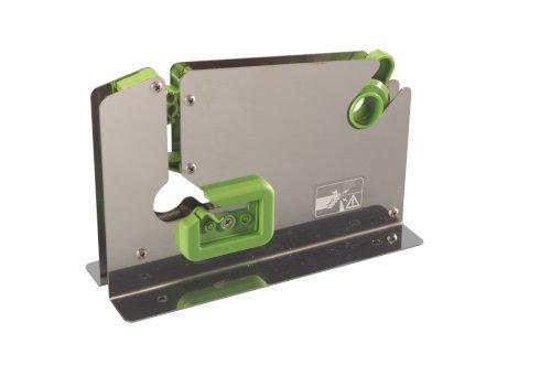 Zakkensluiter RVS met mes 12mm E7 R