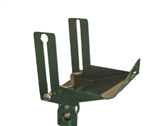Dispenser staal smal 23x20x17cm groen tbv voet art. 516771