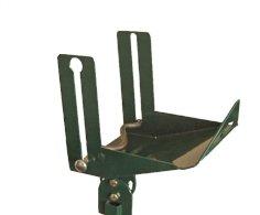 Spender, Stahl, schmal 23 x 20 x 17 cm grün, für Ständer Art. 516771