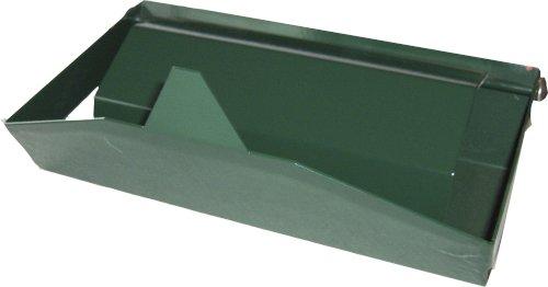 Dispenser staal breed 27x16x16cm groen tbv voet art. 516771