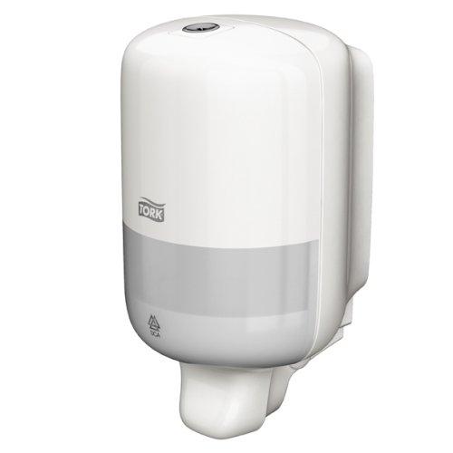 Tork Mini Liquid Soap Dispenser S2 Elevation wit