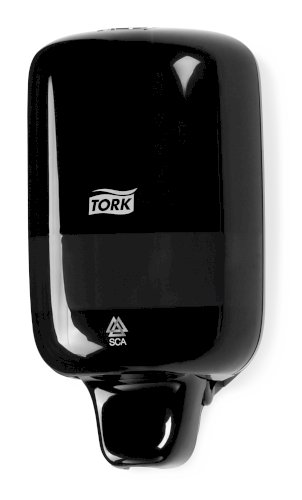 Tork Mini Liquid Soap Dispenser S2 Elevation zwart
