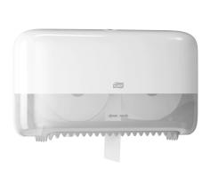 Tork dispenser Twin Coreless Mid-size wit tbv Toilet Roll