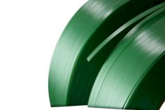 Omsnoeringsband PET 15.5x0.90mm kern 406, groen gewafeld