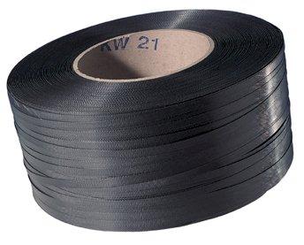 Omsnoeringsband PP zwart 12x0.63mm kern 280mm