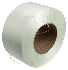 Omsnoeringsband PP wit 6x0,63mm kern 280mm