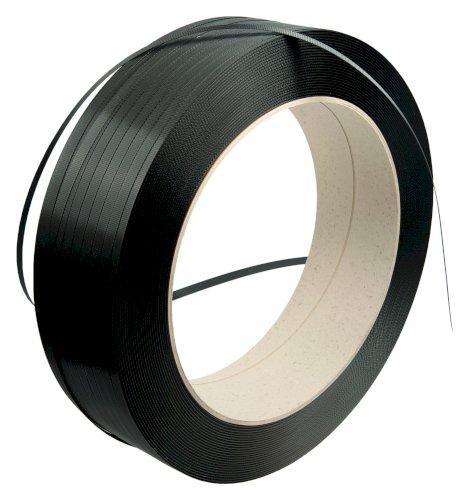 Omsnoeringsband PP zwart 16x0.83mm kern 406mm, trekkracht 320kg