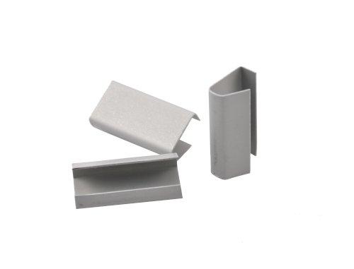 Zegels (opzet) 16x28x0,6mm verzinkt