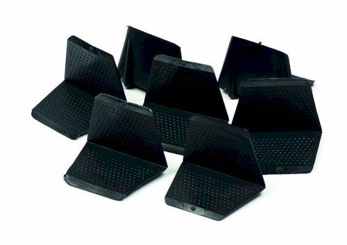 Hoekbeschermer plastic 35/24 zwart