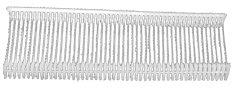 5000 Textilpins PP reg. Verschl., 50 mm
