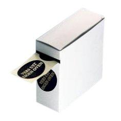 Etiket 'vers uit eigen oven' 30x60, ovaal, zwart/goud