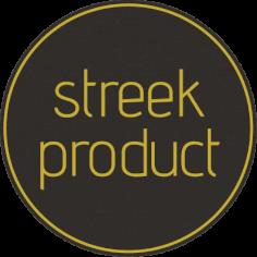 Etiketten @35mm zwart-geel 'Streekproduct'