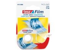 Dubbelzijdige plakband Tesa 12mmx7.5mtr + dispenser