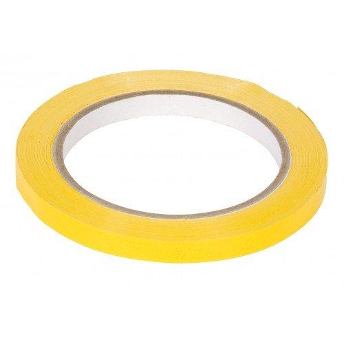 Tape PVC 9mmx66mtr geel