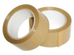 Tape PVC 48mmx66mtr 32my bruin solvent