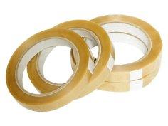 Tape PVC 25mmx66mtr transparant kern neutraal