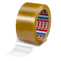 Tape PLA 50mmx66mtr 55my transparant, bio & strong, tesa 60400