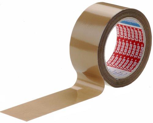 Tape PVC 50mmx66mtr 49my bruin solvent belijming, tesa 4120
