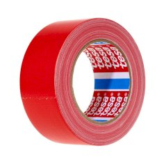 Tape PVC 50mmx66mtr 59my rood solvent belijming, tesa 62204