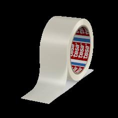 Tape PVC 50mmx66mtr 49my wit solvent belijming, tesa 4120