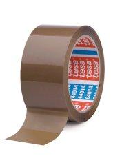 Tape PP 50mmx66mtr 45my bruin, acryl belijming, tesa 64014