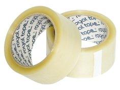 Tape PP hotmelt 48mmx1800mtr transparant, 28my