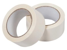 Tape PP Royal Tack 48mmx66mtr 35my, wit, high tack, acryl