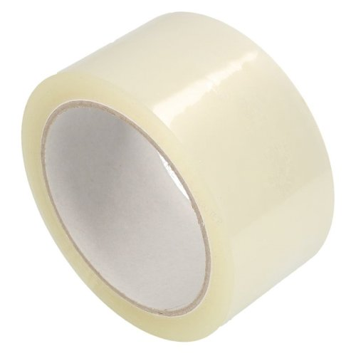 Tape PP530 48mmx66mtr transparant 28my, solvent