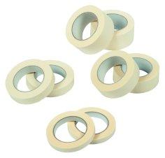 Maskingtape 25mmx50mtr creme solvent belijming, voor algemeen gebruik