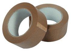 Tape papier eco 50mmx50mtr bruin solvent belijming