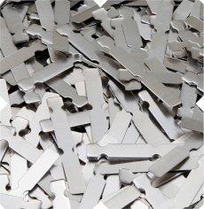 Clips aluminium 37mm blank