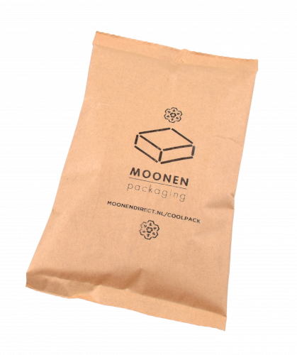 Koelelement Recycold Cool Pack bruin 20x15x2,5cm 400ml