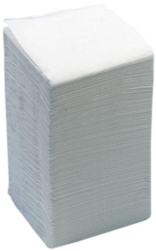 Servet 39x39cm 2-laags wit
