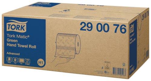 Tork Matic handdoekrol groen 2-lgs 150mtrx21cm H1 Advanced