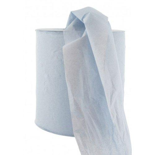 Midi-rol poetspapier M2 1-lgs 300mtrx20cm blauw