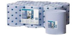 Tork poetsrol 1-lgs blauw 320mtrx20cm centerfeed M2 Advanced