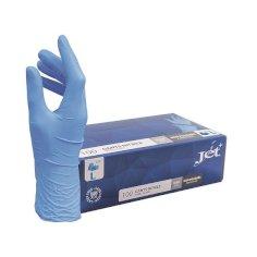 Handschuh Jet+ Nitrilblau Gr. L