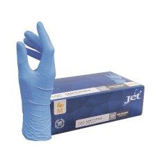 Handschoen Jet+ nitril blauw M