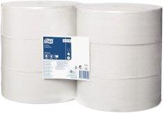 6 Rol./2.400 Tork Jumbo Toilettenpapier 1-lagig, 10 cm x 480 m T1 Universal recycelt
