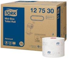 27 Rol. Tork Mid-size Toilettenpapier 100mtrx10cm  2-lg T6 Advanced