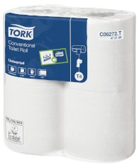 48 Rol./200 Blatt Tork Conventional Toilettenpapier 2-lgs 25mtrx10cm T4 Universal