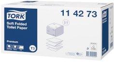 30 Pkg/252 Toilettenpapier Tork Premium T3 2-lagig 19 x 11 cm weiß gefaltet weich